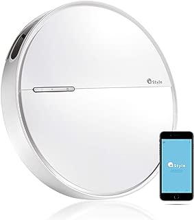 【+Style ORIGINAL】スマートロボット掃除機 B300 ロボット掃除機 Wi-Fi接続 アプリ制御 水拭き 薄型 6.2cm 日本メーカー製 Amazon Alexa/Google Home 対応