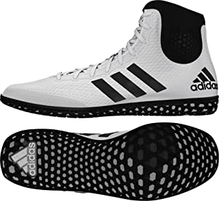 adidas Tech Fall Wrestling Shoes - White/Black