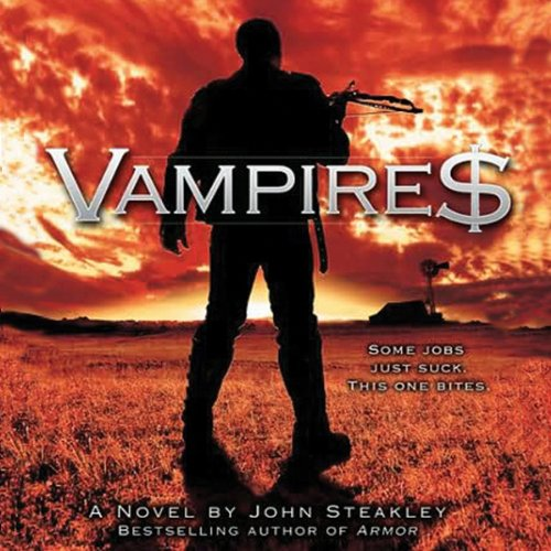 Vampire$ audiobook cover art