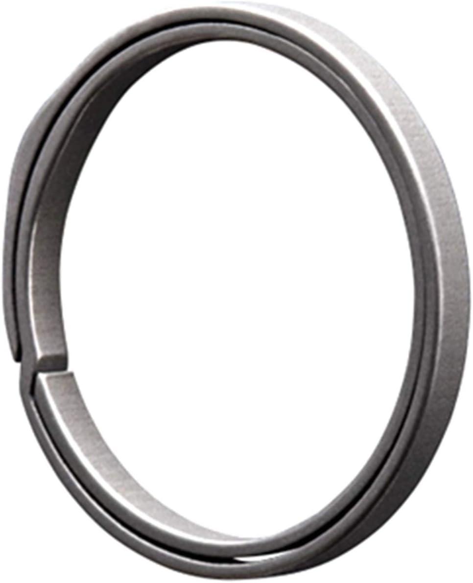 Zhixuanda Titanium Side-Pushing Keyrings Keychains-Gray… …