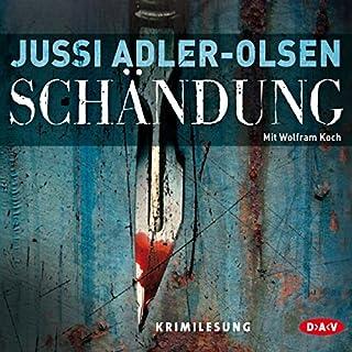 Schändung     Carl Mørck 2              Autor:                                                                                                                                 Jussi Adler-Olsen                               Sprecher:                                                                                                                                 Wolfram Koch                      Spieldauer: 7 Std. und 25 Min.     2.616 Bewertungen     Gesamt 4,4