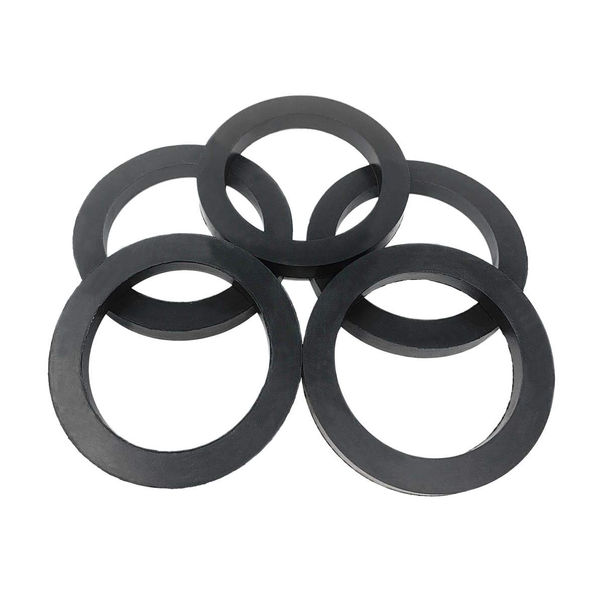Black EPDM CAM and Groove 2 White Stripes on OD, 1 CAMLOCK Gasket 1 Gasket