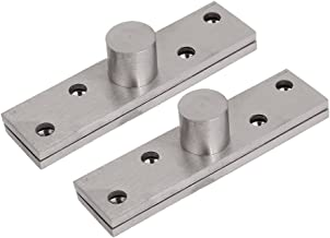 uxcell 100mm x 25mm Hardware Stainless Steel Door Pivot Hinge 2 Pair