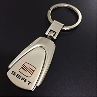 Vehicle Parts & Accessories Seat Eco Leather Keyring Keyfobs Key Chain Cordoba Leon Ibiza Toledo Bl Automobilia