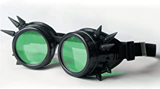 Florata Goggles Goth Steampunk Cosplay Goth Antique Victorian with Party