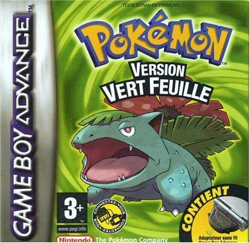 Pokemon Leaf Green (GBA) (Vert Feuille)