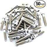 """Escape Climbing 50 Pack of 2"""" Stainless Steel Bolts 