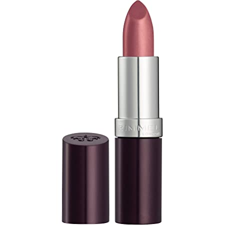 Rimmel London Lasting, Barra de Labios Tono 8 (Dusty Rose), 4 g