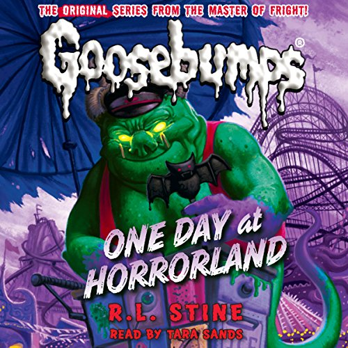 Classic Goosebumps: One Day at Horrorland audiobook cover art
