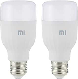 Mi Smart LED Bulb Essential (White and Color), 950lm, Pack of 2, 1, 2pcs mi bulb