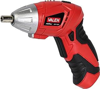 Valex 1422531 Lithium Akku Schraubendreher, 3,6 V, rot