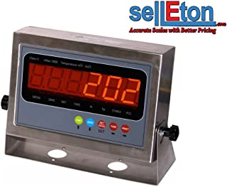 Selleton Ps-In202Ss Ntep Legal for Trade Indicator/Floor, Axle, Truck Scale / Rs232