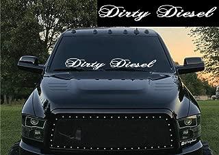 Dirty Diesel Windshield Banner Decal Sticker Truck Lift Off Road
