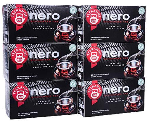 Teekanne Nero, 6er Pack (6 x 30g)