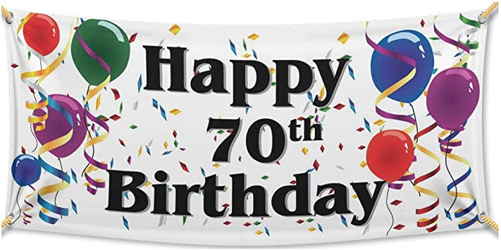 Retail Banner for all occasions Birthday Waterproof Food Shops Anniversary