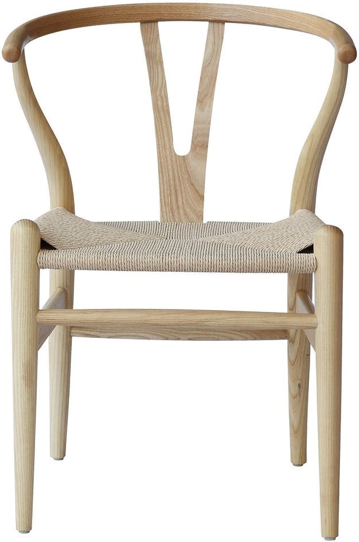 Replica Hans Wegner Wishbone Chair Natural
