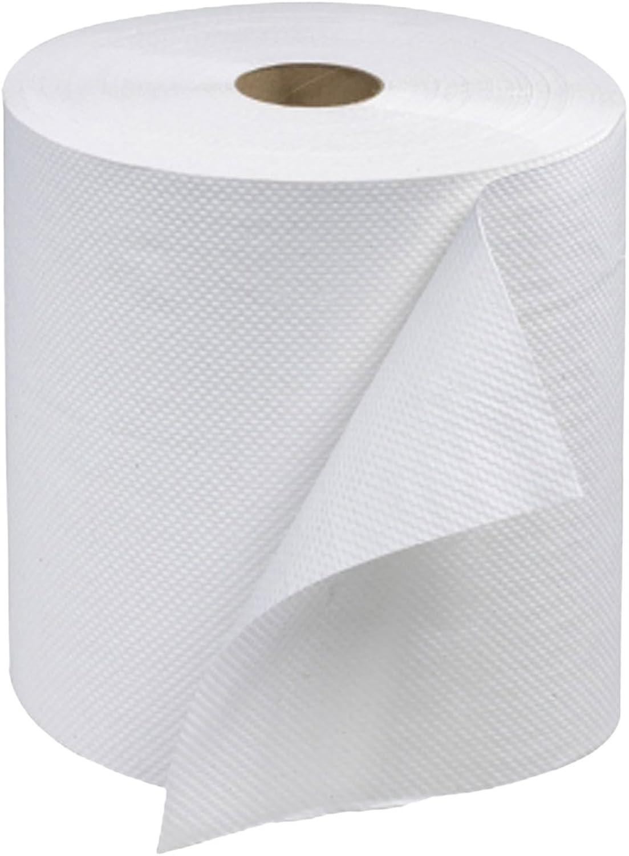 Tork RB600 Advanced Single-Ply Hand Roll Towel, White