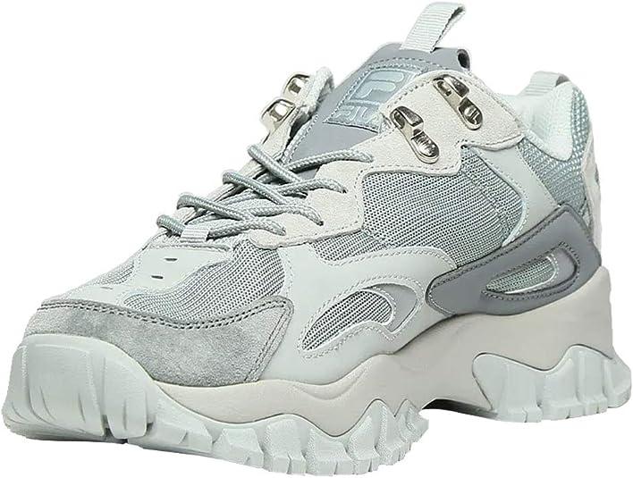 amazon fila casual zapatillas metálico