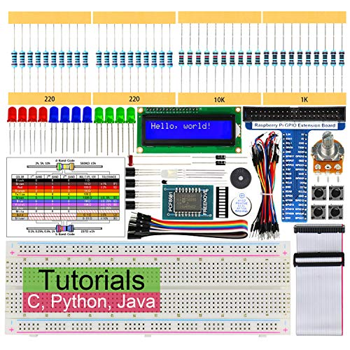 Freenove Ultimate Starter Kit for BBC micro:bit Blocks and Python Code Not Contained 224 Items Solderless Breadboard 305 Pages Detailed Tutorial 44 Projects