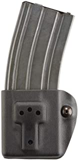 Safariland 774 Competition Rifle Mag Pouch - STX Tactical Black, Ambidextrous - H&K MP5 -