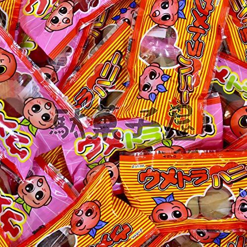 よっちゃん 梅の駄菓子 ウメトラ兄弟&ウメトラハニー 各10個 計20個セット