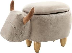 Ottomane e poggiapiedi Qualità Premium Confort Pattini di prova creativi del pattino di cambiamento creativo della sedia della sedia della sedia di stoccaggio (lunghezza: 63CM, larghezza: 33CM, alta 3