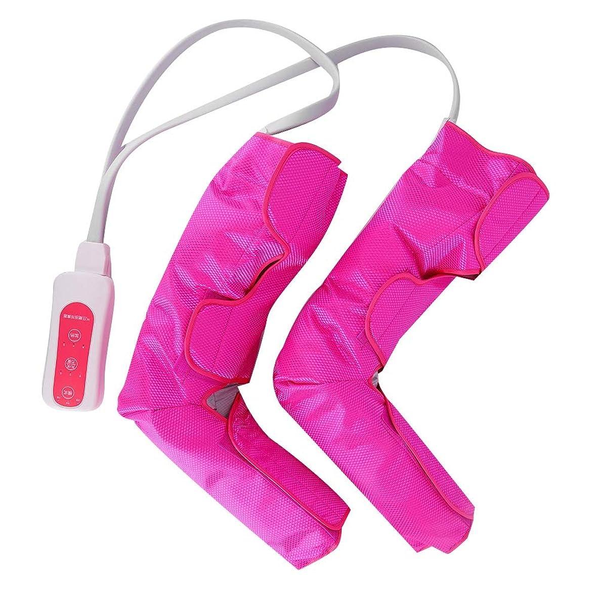 どきどき一肺足とふくらはぎの循環マッサージの疲労を和らげるマッサージ装置のための足のマッサージャーの空気圧縮(US Plug)