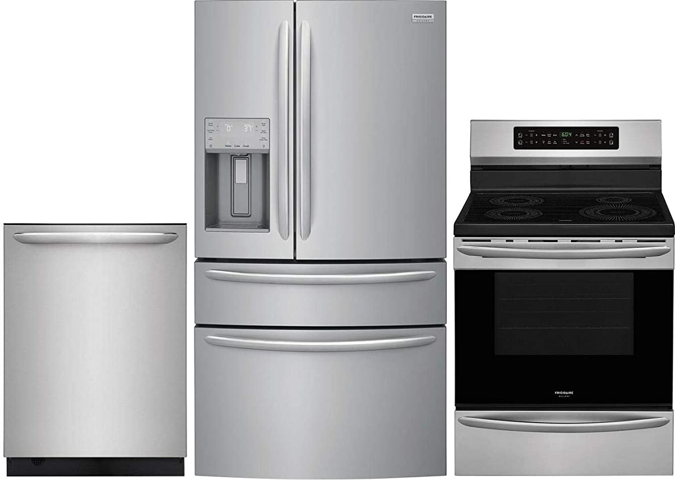 Frigidaire Gallery 3 Piece Kitchen Appliance Package with FG4H2272UF 36