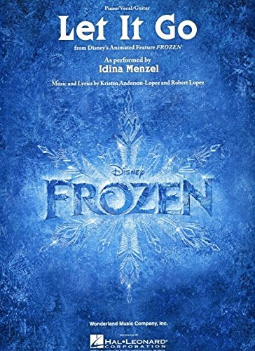 Let It Go (From Frozen) (PV): Noten, Partitur für Klavier, Gesang