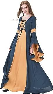 Renaissance Medieval Victorian Dress Vintage Princess Dress