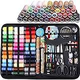 Nrpfell 206 Suministros de Costura, Adecuados para Viajeros, Emergencias, Principiantes, Ni?Os, Familias y Kits de Costura de Bricolaje