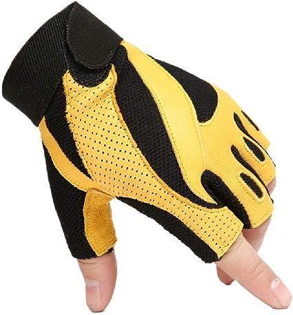 Escalada de los medios guantes de entrenamiento al aire libre ...