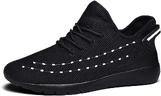 CAIFENG Zapatos atléticos para Hombres Zapatos Deportivos Lace Up Style Material Material Hollow Moda Costura Cómoda Redon...