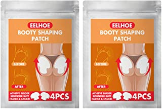 Healifty 8pcs Buttocks Lifter Butt- Lift Shaping Patch Hip Up Stickers Body Shaping Patches Firm Hip Lift Up Massage Plump...