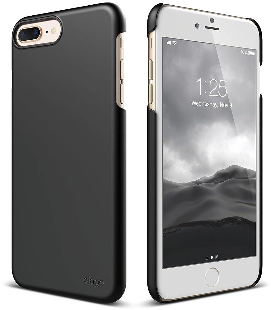 elago iPhone 8 Plus / iPhone 7 Plus Case [Slim Fit 2][Black] - [Light][Minimalistic][True Fit]