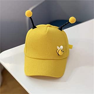 9a11fdef7f2b2 CapsA Summer Polo Bee Cap for Children Baseball Strap Sun Pony Adjustable  Hat Baseball Cap Baby