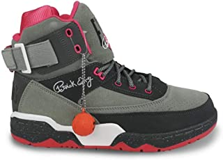 8c653caff583 Ewing Athletics 33 Hi X Staple Grey Pink White Basketball Shoes Limited  Edition