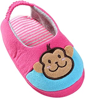 Toddler Girl Slippers Cartoon House Shoes