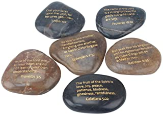 Stonebriar Inspirational Scripture Stones, Religious Gift Ideas for Friends and Family,..