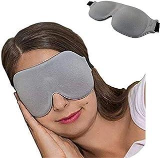 QKAIFRYSUG Sleep Mask CM-EM17 - Best Night and Travel 3D Eye Mask for Men and Women