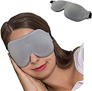Sleep Mask CM-EM17 - Best Night and Travel 3D Eye Mask for Men and Women