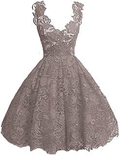 LKOMARKET-レディースフォーマルドレス 女生ワンピース パーティードレス ミニワンピース イブニングドレス セクシー 復古ドレス 欧米風 レース 花柄 4カラー