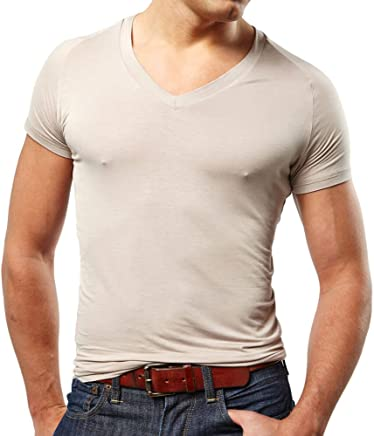 d905c6af7ed79 Mr. Davis Men s Bamboo Viscose Tailored Cut V Neck Undershirt - 3 Pack