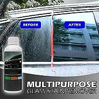 Dragon Honor ガラスクリーナー ウインドウケア ガラス油膜取り シミ・水垢・くすみを落として 車の視界をクリアに守る スポン・ジタオル付き Multipurpose Glass Stain Remover 100ml
