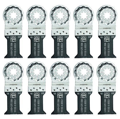 Save %25 Now! Fein 63502160290 Bi-Metal Oscillating Blade (10 Pack), 1-3/8 x 2