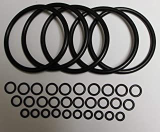 Universal Kegco Type O-Ring Ten Gasket Sets for Cornelius Home Brew Keg and Homebrewed With Pride keg sticker