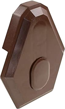 1 X Chocolate Brown Synseal Main Glazing Bar End Cap Xtec1 Global Conservatory Roof Spar End Stop Amazon Co Uk Diy Tools
