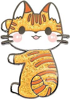 دبابيس مطلية بالمينا بتصميم I Love Cats من كوكو