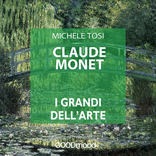 Claude Monet audiobook cover art