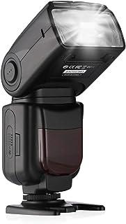 Powerextra フラッシュ・スピードライト ストロボ ワイヤレスストロボ フラッシュ スピードライト カメラ 一眼レンズカメラ専用 Canon EOS Rebel t3t3i t2i t4i t5t5i sl120d 30d 40d 50d 60d 70d 7d 5d 5d Mark II & III、6d 7d Mark II Canon DSLRなど対応可(日本語説明書付き)